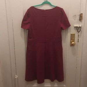 LOFT Dresses - Raspberry A line LOFT dress